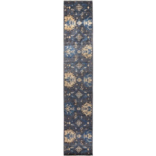 "Verity, Eclectic Runner Rug - 3'0"" X 16'6"" For Sale"