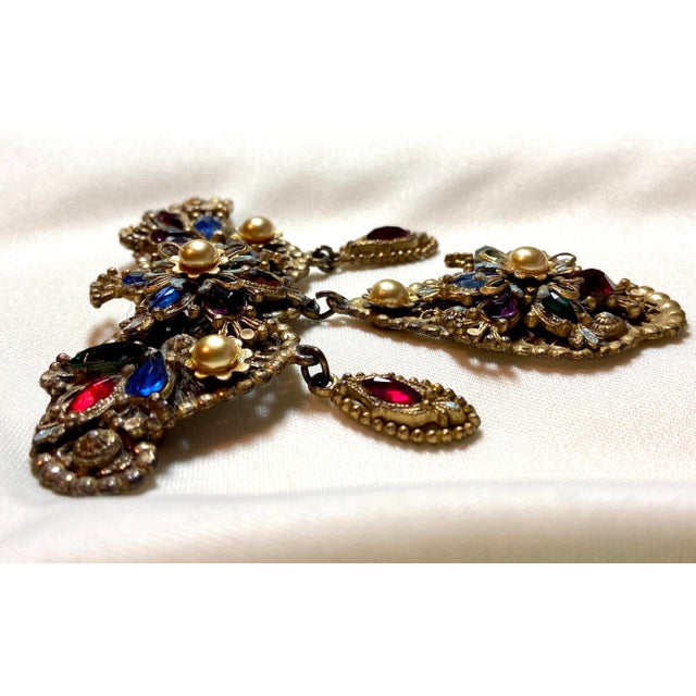 1940s Thief of Bagdad Jeweled Brooch For Sale In Los Angeles - Image 6 of 9