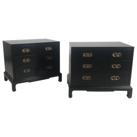 Image of Black Commodes