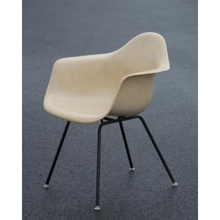 Charles & Ray Eames Herman Miller Fiberglass Armshell Chairs - Set of 4 Preview