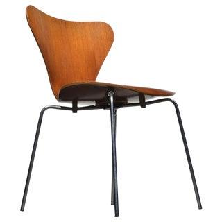 1960s Vintage Fritz Hansen Arne Jacobsen Chair For Sale