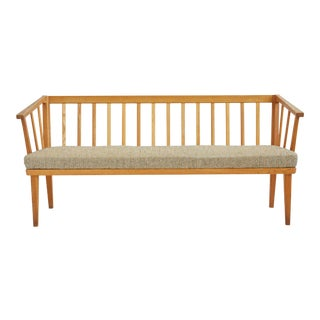 Three-Seat Visingsö Oak Sofa by Carl Malmsten For Sale