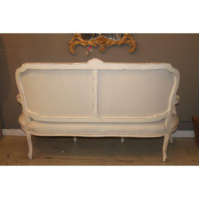 French Louis XV French Settee For Sale - Image 3 of 4