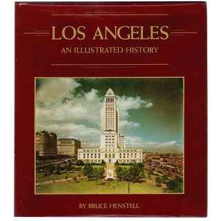 """1980 """"Los Angeles: An Illustrated History"""" Coffee Table Book For Sale"""