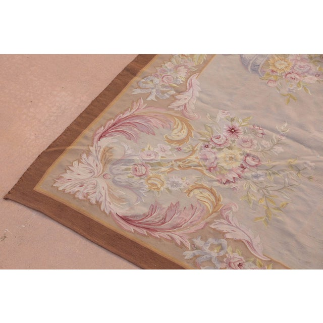 French French Aubusson Rug For Sale - Image 3 of 9