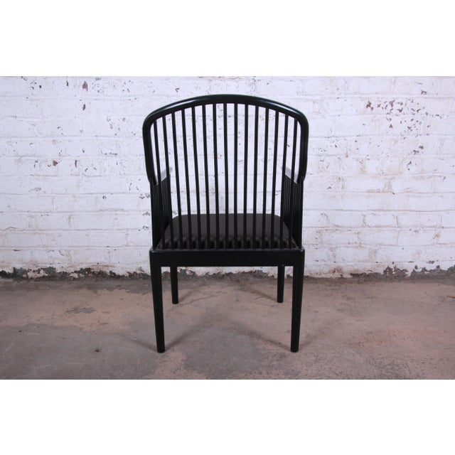 Stendig Andover Black Spindle Armchairs - a Pair For Sale - Image 10 of 13