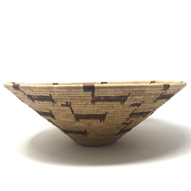 Late 20th Century African Deer Motif Woven Basket For Sale - Image 5 of 10