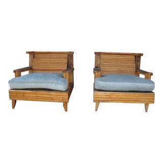 Hand Made Outdoor Chairs - a Pair For Sale