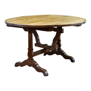 French Tilt-Top Vendage Table For Sale