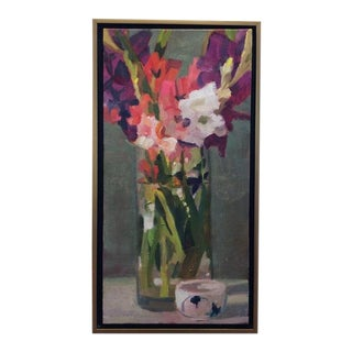 Christine Averill - Green, Long and Short, 2015 For Sale