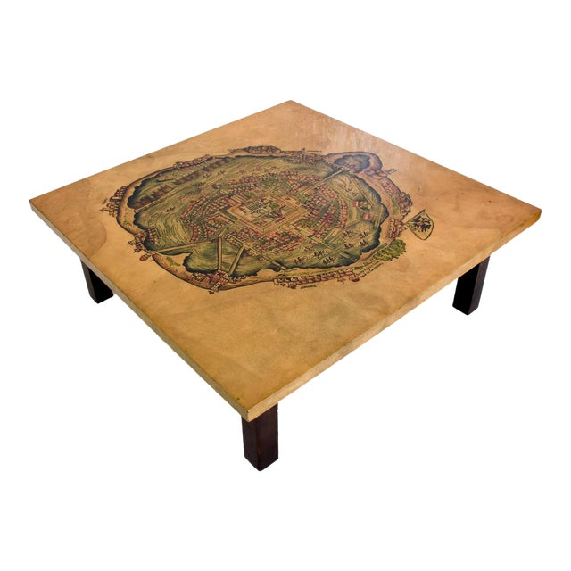 For your consideration, a beautiful coffee table designed and produced by Maria Teresa Mendez. Her high-quality furniture...