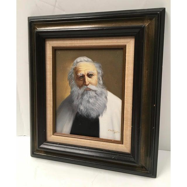 Pelbam Original Signed Oil Painting of Rabbi - Image 5 of 6