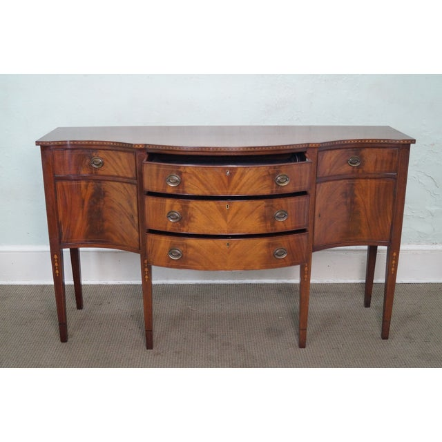 Marlboro Manor for Sacks 1920s Mahogany Sideboard For Sale - Image 9 of 10
