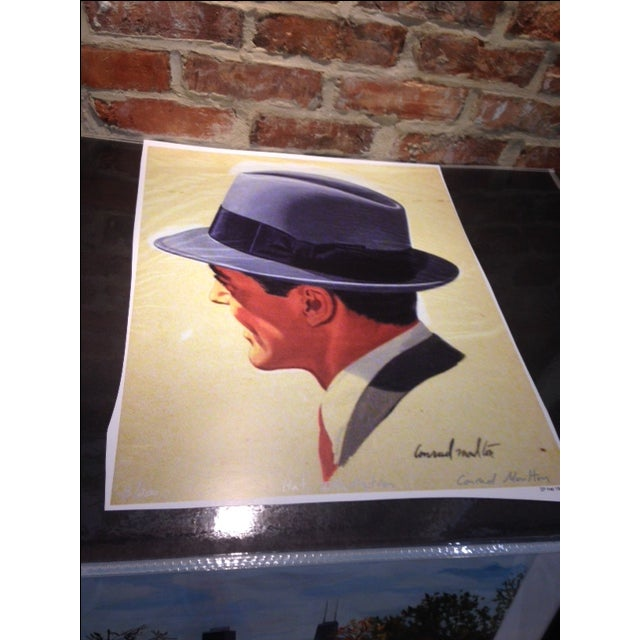 This is a giclee print on archival paper. Numbered and signed. Original illustration by celebrated and deceased artist...