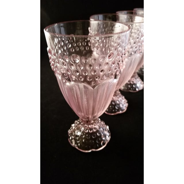 Gorham Iced Tea Crystal Goblets - Set of 4 - Image 4 of 6