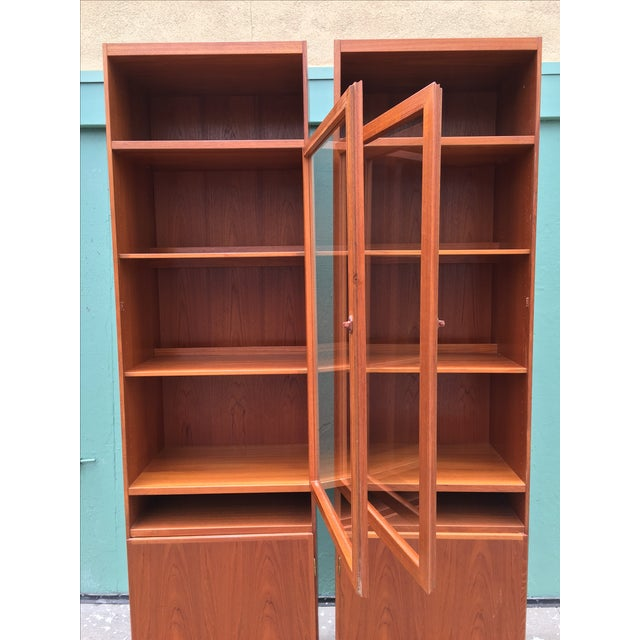 Danish Modern Bookshelves - A Pair - Image 4 of 11