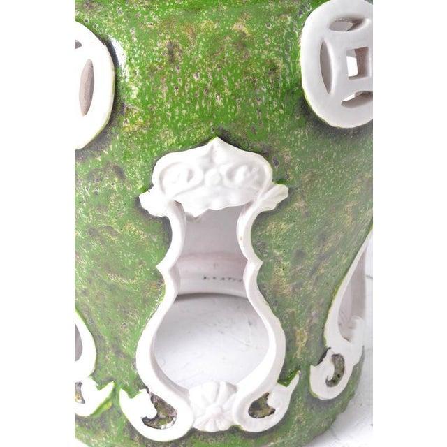 Italian Terra-Cotta Garden Stool - Image 4 of 7