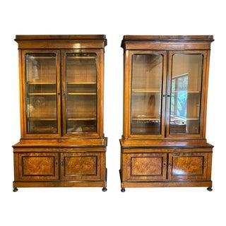 Pair Biedermeier Cabinets, Austria, 19th Century For Sale