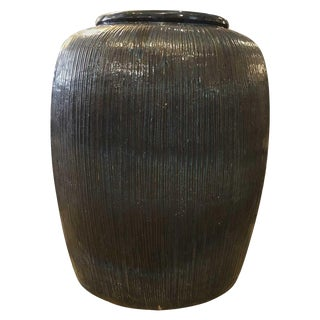 21st Century Contemporary Large Glazed Urn For Sale