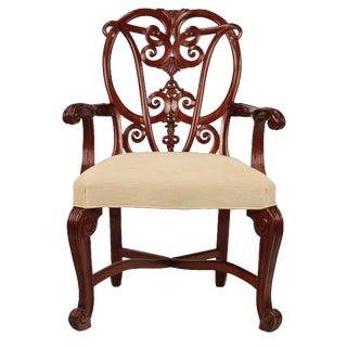 Georgian Mahogany Arm Chair