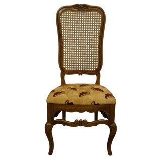 Late 20th Century Thomasville Furniture Chateau Provence Collection Dining Side Chair For Sale