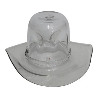 Blenko Cowboy Hat Ice Bucket For Sale
