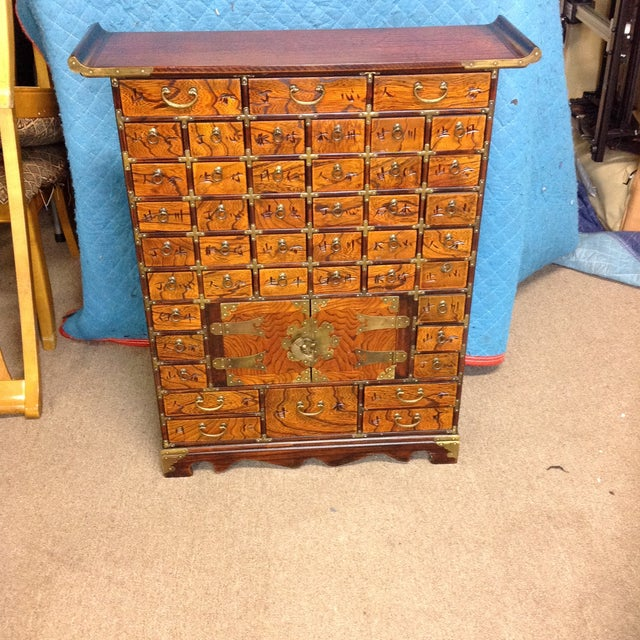 Antique Korean Apothecary Chest For Sale - Image 10 of 10 - Antique Korean Apothecary Chest Chairish