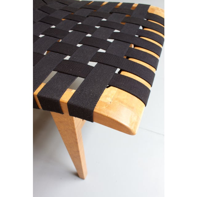 Black Jens Risom-Style Webbed Chair For Sale - Image 8 of 8