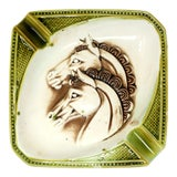 Image of Vintage Horse Head Ashtray For Sale