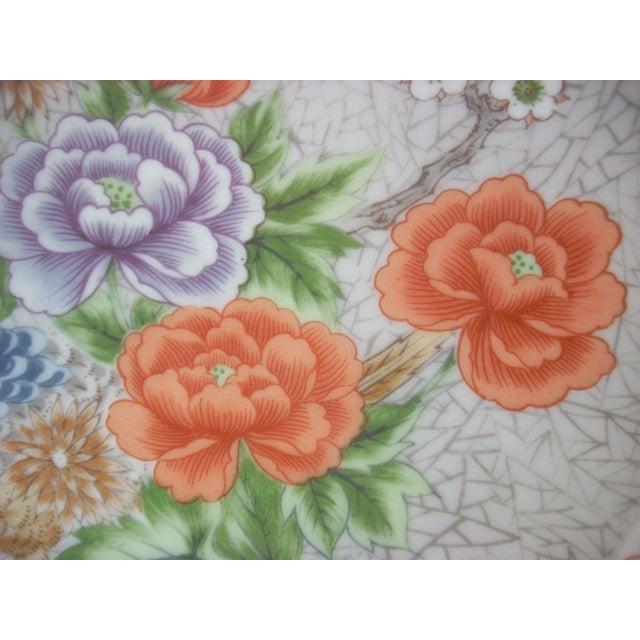 Fleurs De Chine Plate For Sale - Image 4 of 5
