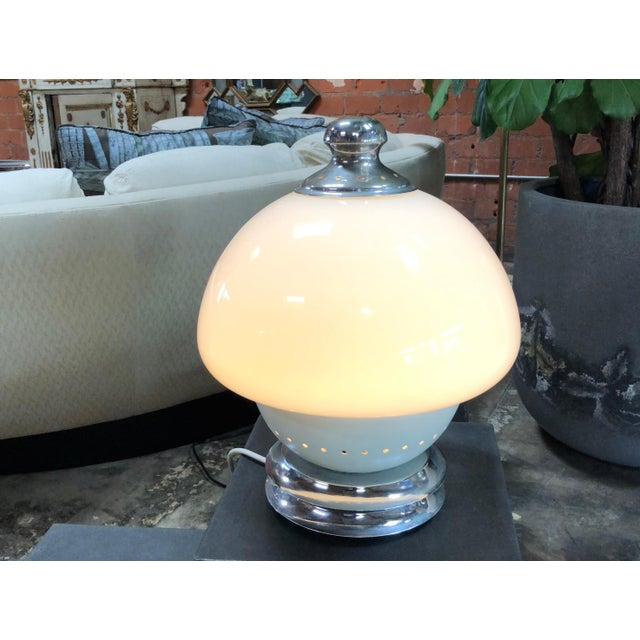 Italian, 1960s Double White Orb For Sale In Los Angeles - Image 6 of 7