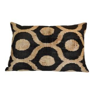 Ikat Silk Velvet Elma Pillow