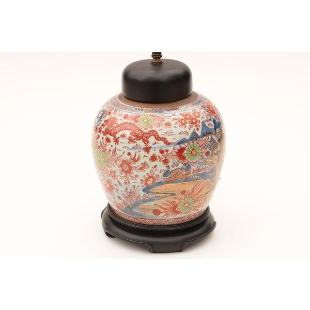 Antique Imari Table Lamp Chairish