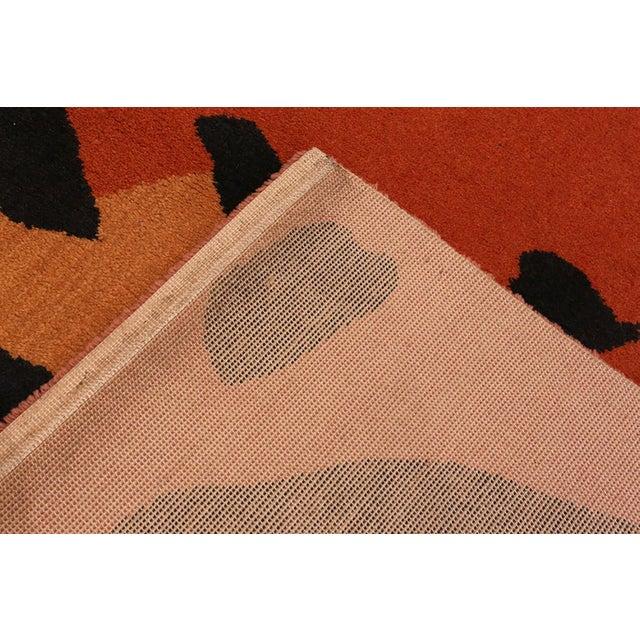 Paul Klee Artist Scandinavian Rug - 4′8″ × 6′6″ For Sale In New York - Image 6 of 13
