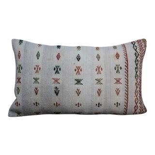 Kilim Cushion Lumbar Pillow For Sale