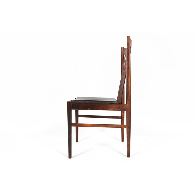 Arne Vodder Rosewood Dining Chairs - Set of 10 - Image 7 of 10
