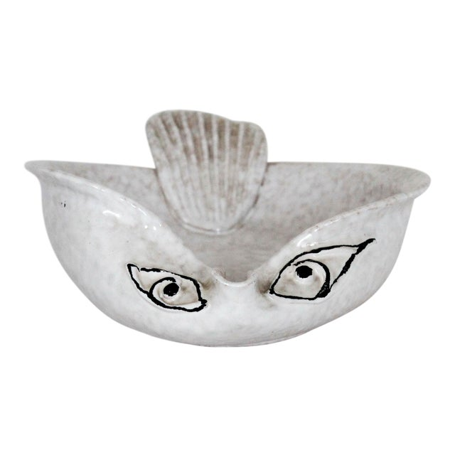 Italian Pottery Fish Catchall For Sale