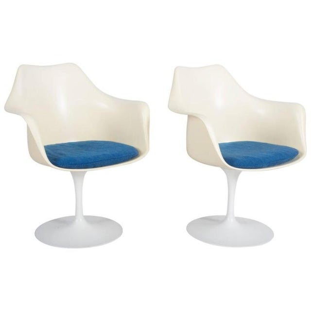 Model 151 Tulip Armchairs by Eero Saarinen for Knoll International - A Pair For Sale - Image 10 of 10