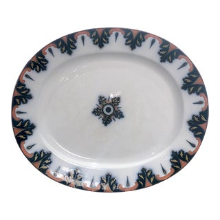 Ironstone Platter, England Circa 1830 For Sale