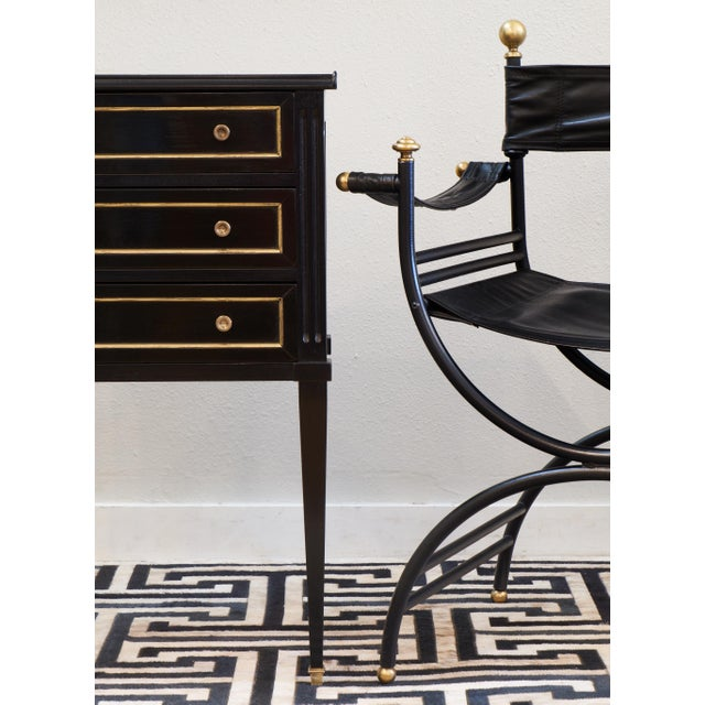 Antique Louis XVI Side Table with Drawers - Image 5 of 10