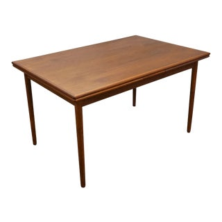 "Original Danish Mid Century Teak Dining Table - ""Stoholm"""