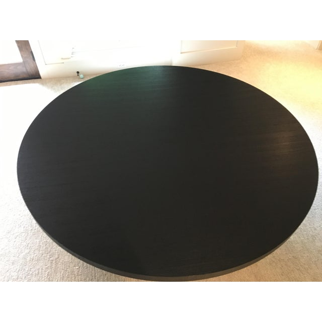 Armani Casa Black Round Dining Table - Image 5 of 11