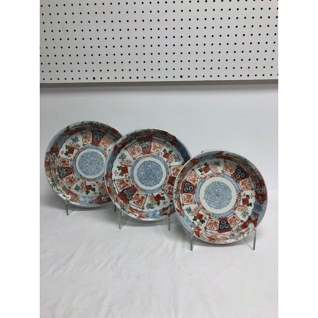 1940s Vintage Nesting Imari Bowls - Set of 3 For Sale - Image 13 of 13