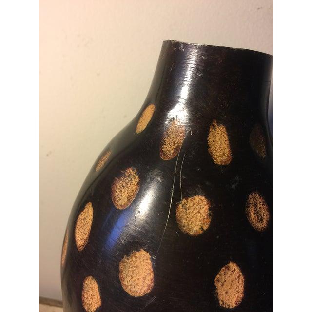 1970s Vintage Modern Ceramic Pottery Jar / Vessel For Sale - Image 5 of 7