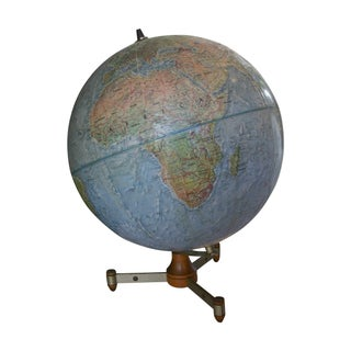 Vintage Mid-Century Globe For Sale