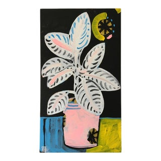 Midnight Contemporary Still Life Painting For Sale