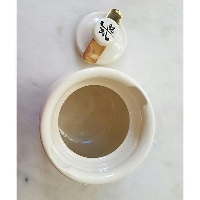 Boho Chic Mid-Century Italian Ceramic Covered Jar For Sale - Image 3 of 11