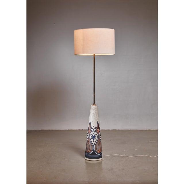 Mid-Century Modern Rigmor Nielsen Floor Lamp for Soholm, Denmark For Sale - Image 3 of 3