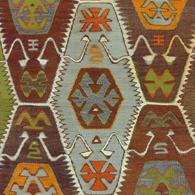 Earthy Barak Kilim Flatweave -- 4'9 x 8'3 - Image 2 of 5
