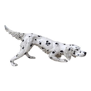 English Setter Figure, Made in Italy For Sale